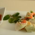 Fresh rice paper rolls (2)