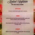 Mod veg menu